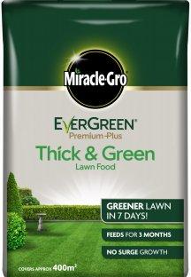 Miracle-Gro EverGreen Premium Thick-Green LF 400m Bag 119677 C